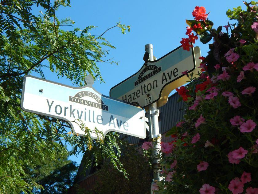 Toronto Bloor Yorkville