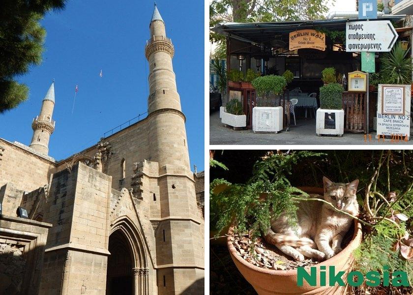 Nikosia die geteilte Stadt