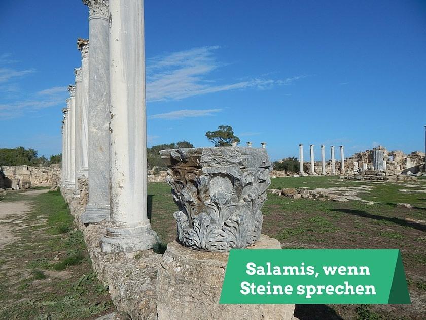 Salamis Ruinenstadt Nordzypern
