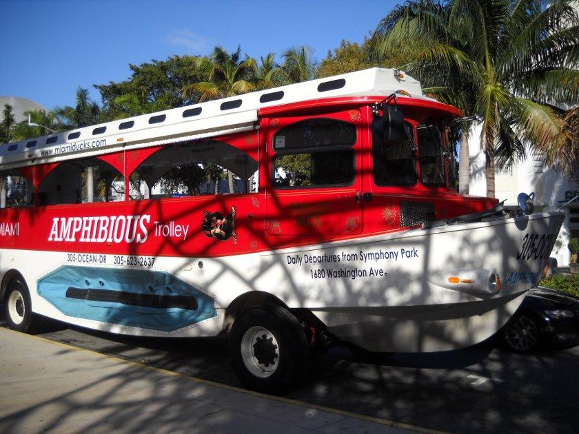 Amphibienfahrzeug in Miami Miamiducktours