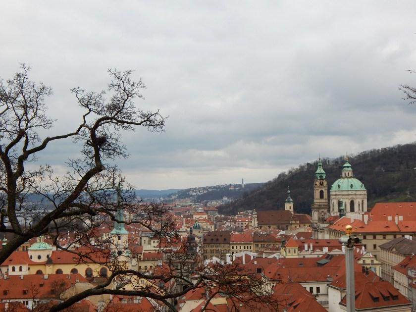 Prag von der Burg