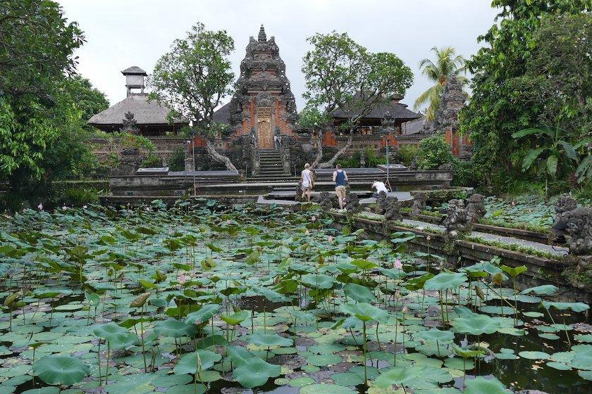 Tempel in Ubud, Bali, Indonesien