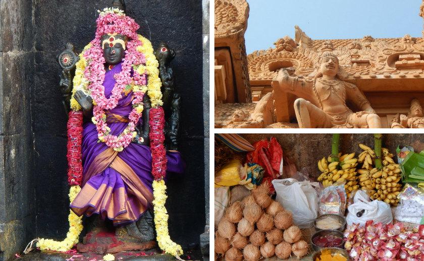 Tanjore Tempel Tamil Nadu Indien