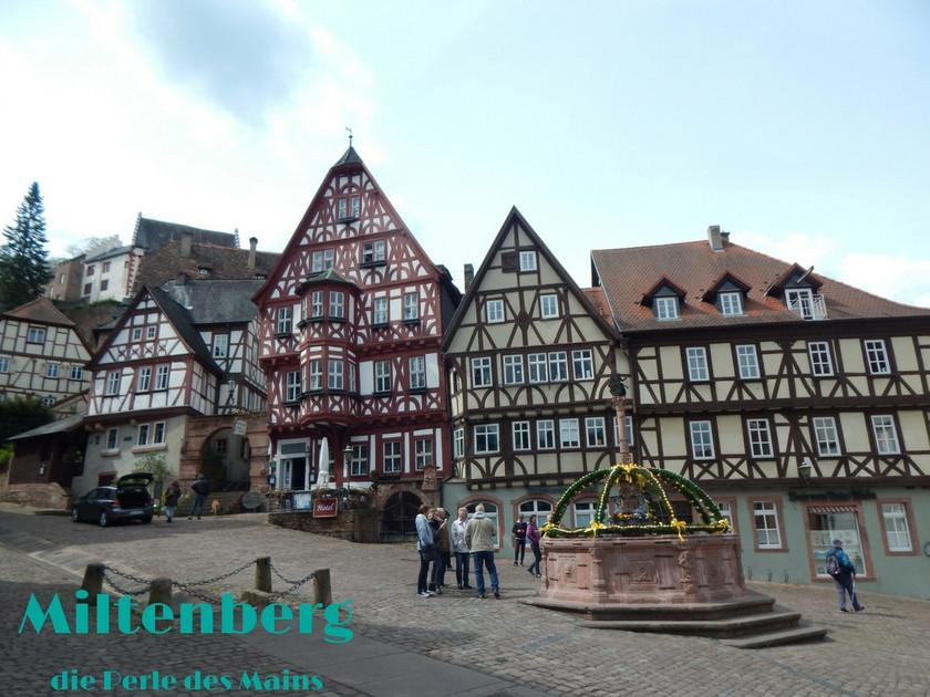Miltenberg am Main, Bayern, Fachwerkstadt