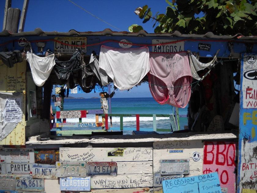 Bomba Shack, Virgin Islands, Karibik