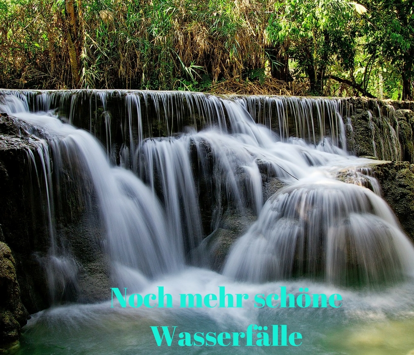 Wasserfall in Laos