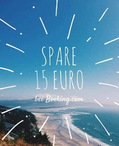 Erhalte 15 Euro bei Booking.com