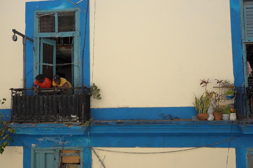 Havanna, Kuba - wohnen mit Oma
