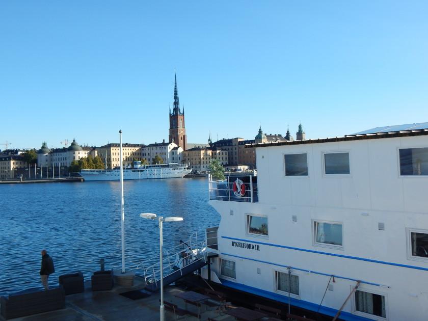 Hotelschiff in Stockholm