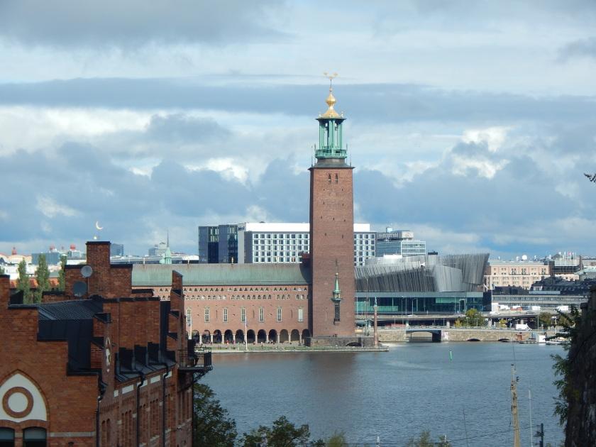 Schöne Aussichtspunkte in Stockholm.
