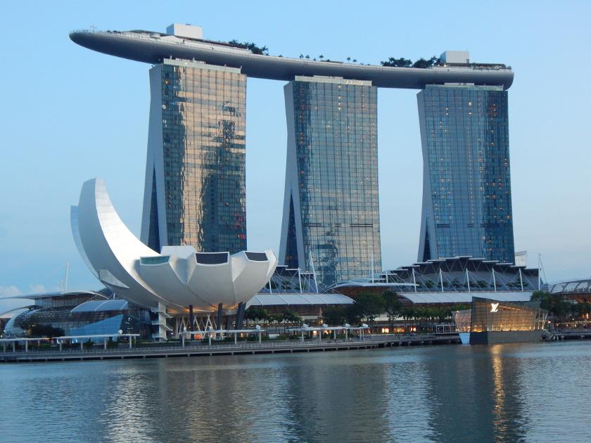 Singapur Sehenswürdigkeiten Marina Bay