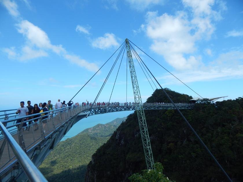 Die Langkawi Seilbahn führt zur Hängebrücke Skybridge.