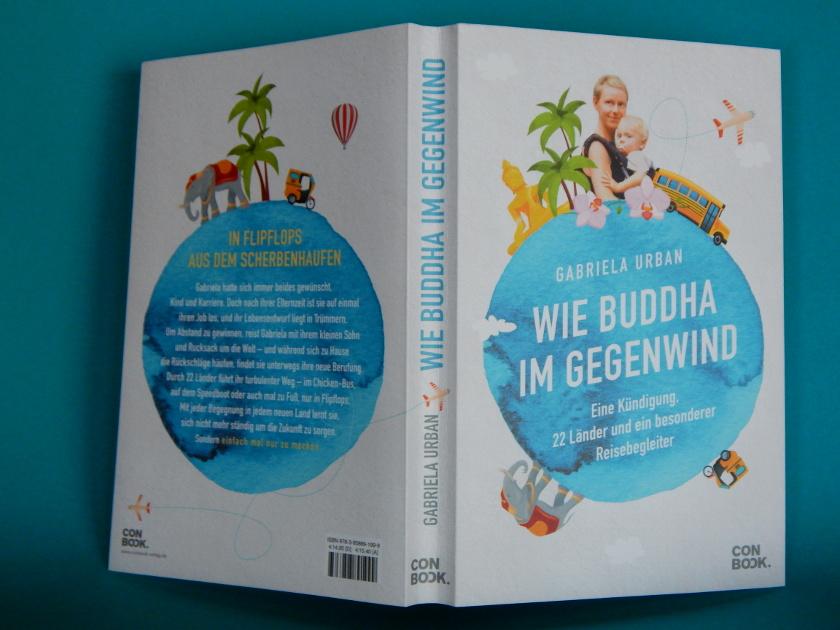 Wie Buddha im Gegenwind, eine Reise als Single mit Kind