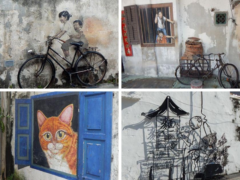 Street Art Penang, Bilder und Infos zu George Town