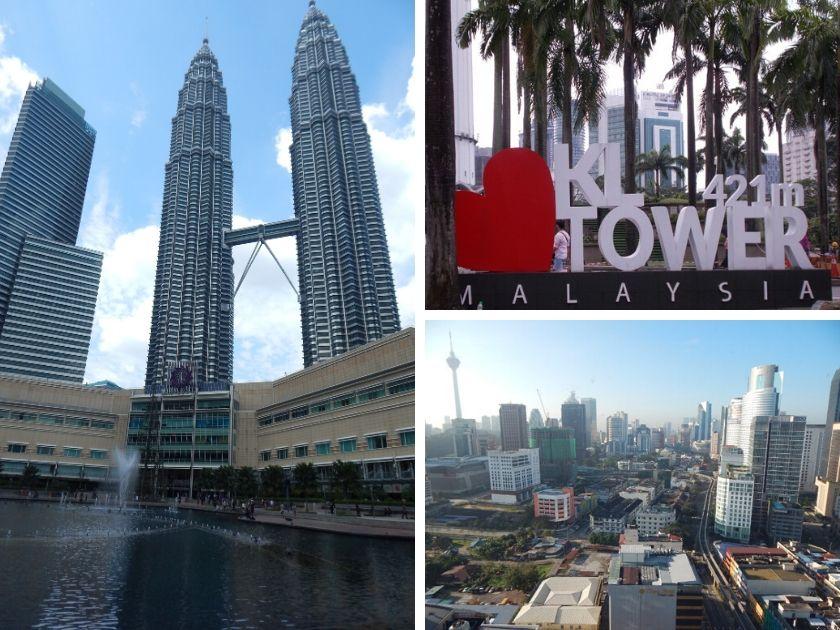 Petronas towers Kuala Lumpur KL tower Malaysia