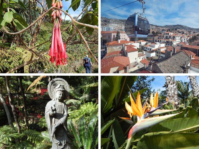 Funchal Seilbahn zum Monte Palace Madeira Tropical Garden.