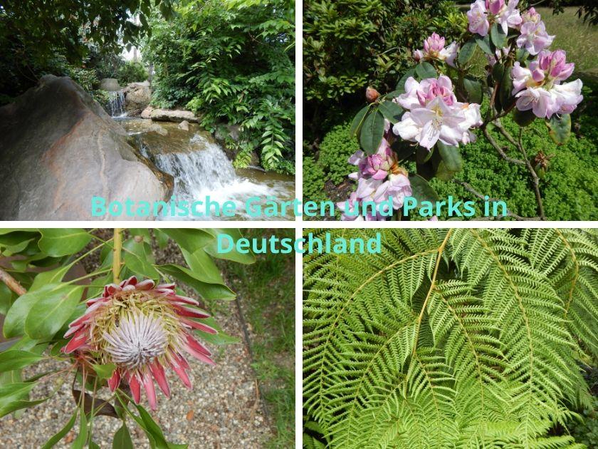 Botanische Gärten und Parks in Deutschland