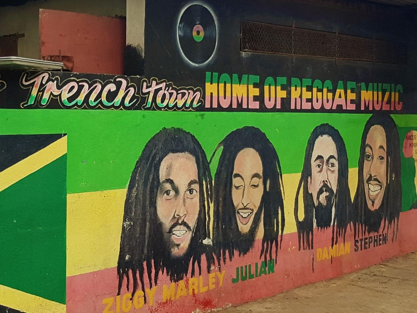 Reggae in Kingston Jamaica