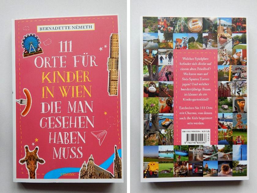 Buchtipp: 111 Orte für Kinder in Wien, die man gesehen haben muss.
