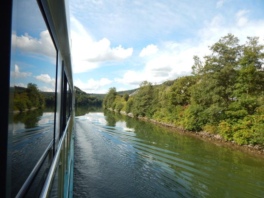 Flusskreuzfahrt über den Main Donau Kanal.