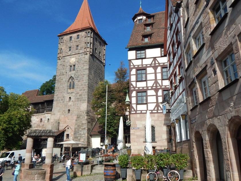 Nürnberg halber Tag Rundgang durch die Altstadt.