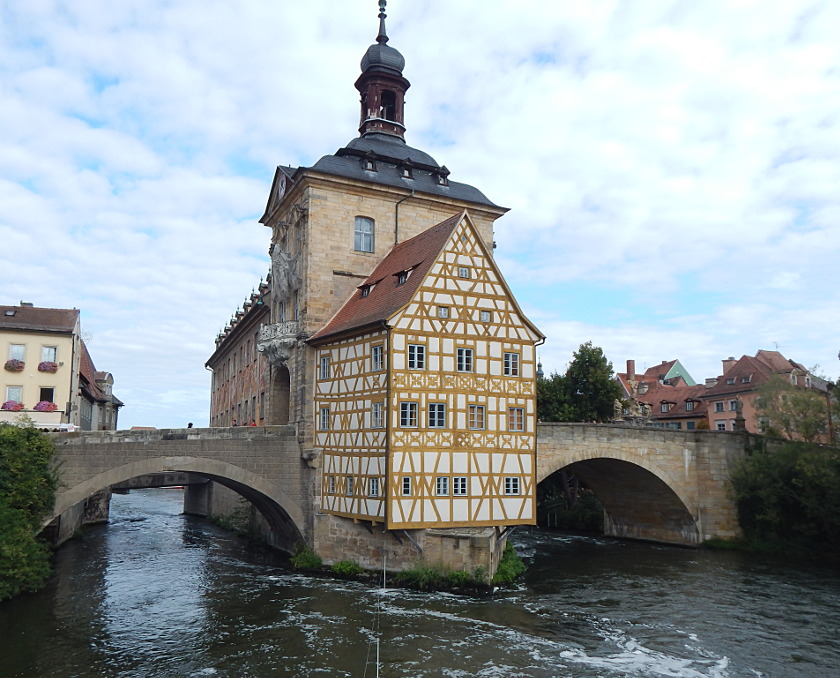 Ein halber Tag in Bamberg, altes Rathaus