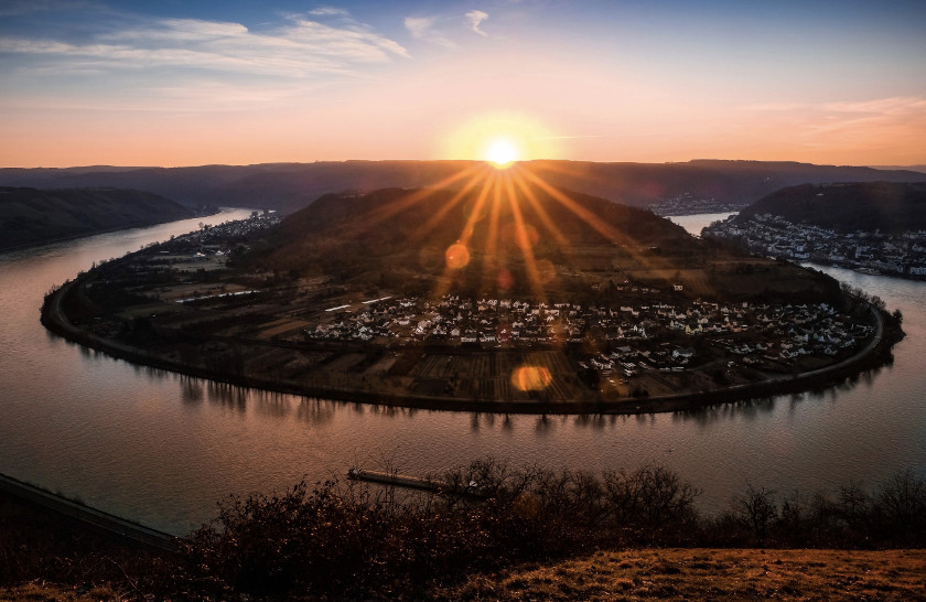 Gedeonseck bei Sonnenaufgang, Bild von Prowifotos