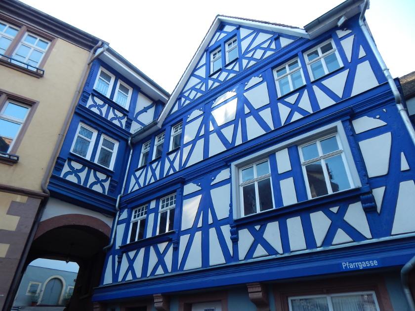 Wertheim Rundgang, das Blaue Haus.