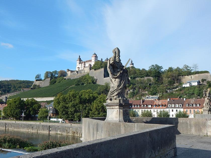 Rundgang durch Würzburg am Main auf eigene Faust