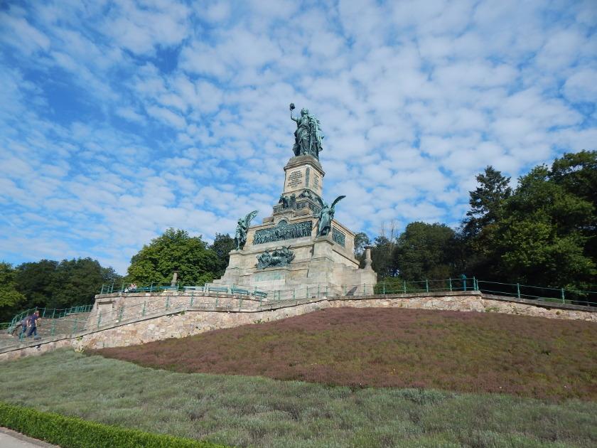 Rüdesheim am Rhein, Ausflug zum Niederwalddenkmal